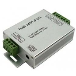 Amplificador PWM 3 canales Led o RGB 12-24v.15A.