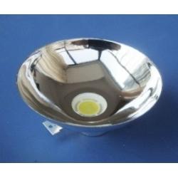 Reflector Metalizado de 53x15mm para Led 5-10-20w