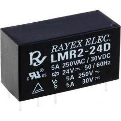 Rele Rayex 5A. Mini 24v