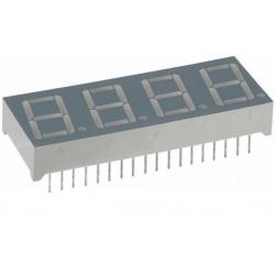 Display Led cuatro dígitos