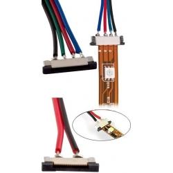Conectores cableados para Tiras de Led