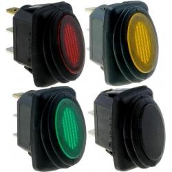 Interruptor basculante 1327 IP65 (Rocker) 2 posiciones