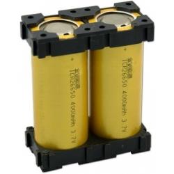 Soporte Porta-baterías 26650
