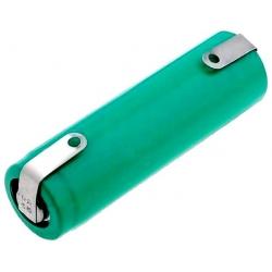 Batería NI-MH Recargable AA de 1.2v. con lengueta