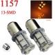 Bombilla LED 1157-P21-5w 13 led Ambar