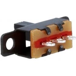 Interuptor deslizante vertical 11x6x5mm 1C-2pos.