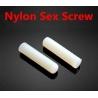Espárrago allen Nylon M4 con extremo biselado hueco