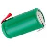 Batería NI-MH Recargable 1.2v.650mAh especial AA con lengueta