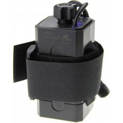 Porta-baterías 4x18650 con cables USB Ultrafire