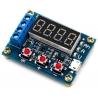 Circuito Tester de baterías, Voltaje, Capacidad
