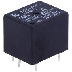 Rele Cubo 10A. Rayex Na-NC 5v