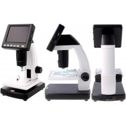 Microscopio con pantalla