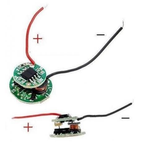 Driver regulador de corriente para LED 3.6~8.4v 5 modos