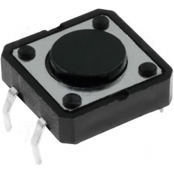 Pulsador Tact Switch de 12x12mm 2mm