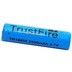 Bateria Litio Protegida Trustfire TR18650 3.7v 2.500mA
