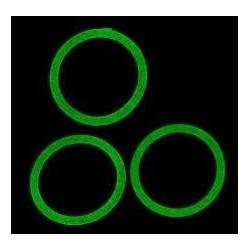 Juntas silicona verde