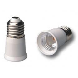 Adaptador alargador de Lámparas E27-E27