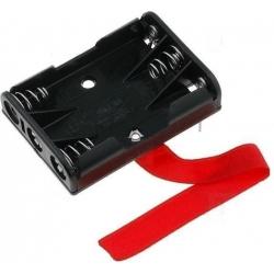 Portapilas Circuito Impreso Keystone 3xAAA, R3 10440