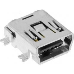 Conector Mini USB-B Hembra PCB SMd 5 pin