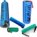 Baterías con lengueta para PCB